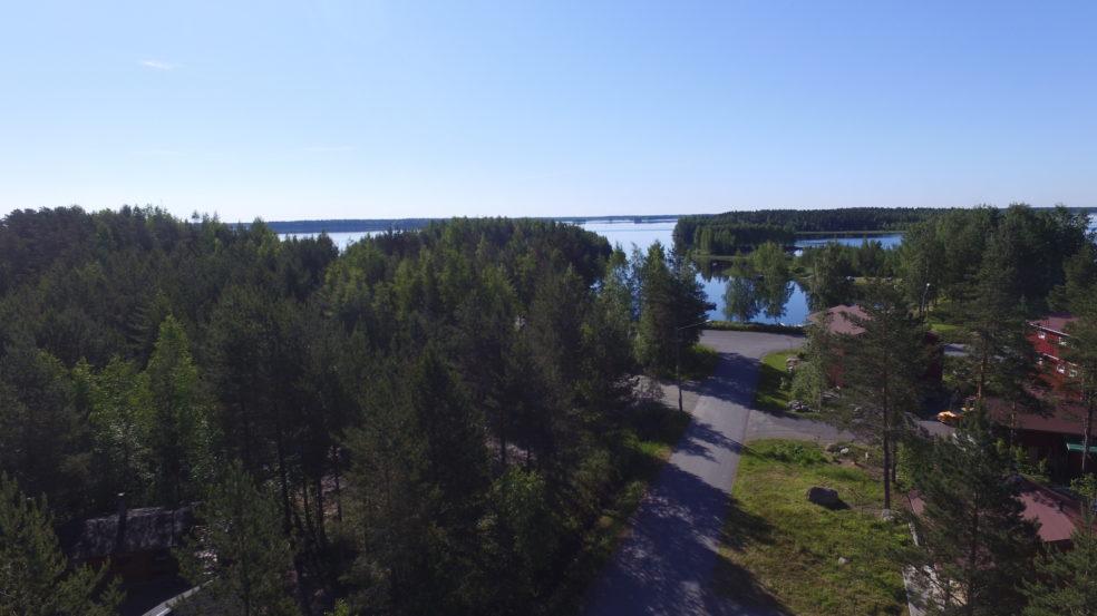 Kalajärven maisema jääskän loman mökeiltä