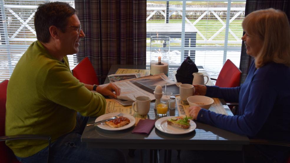 Aamiainen Hotelli HiljaHelena Kurikka