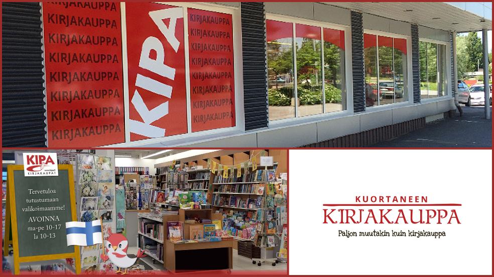 Kuortaneen Kirjakauppa Kauppakeskus Kuurna