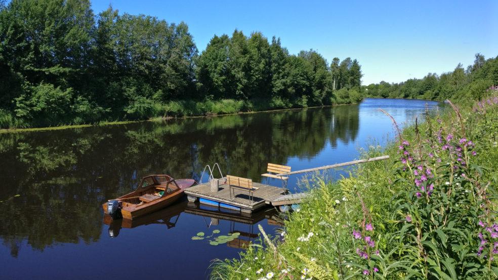 lapuanjoen rantakeidas ranta ja laituri