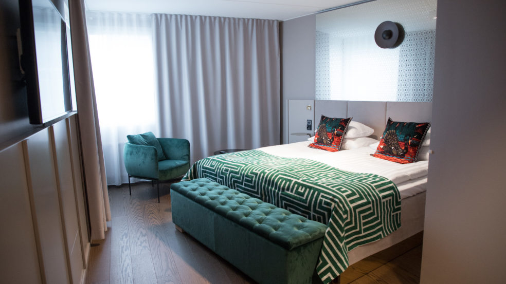 Original Sokos Hotel Vaakuna Seinäjoki junior suite luokan huone