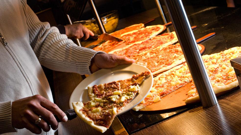 Prisma Ravintolamaailma pizzabuffet