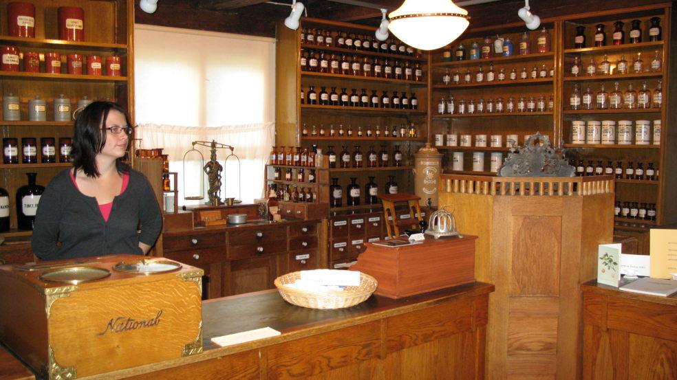 Etelä-Pohjanmaan museon vanhanajan apteekki