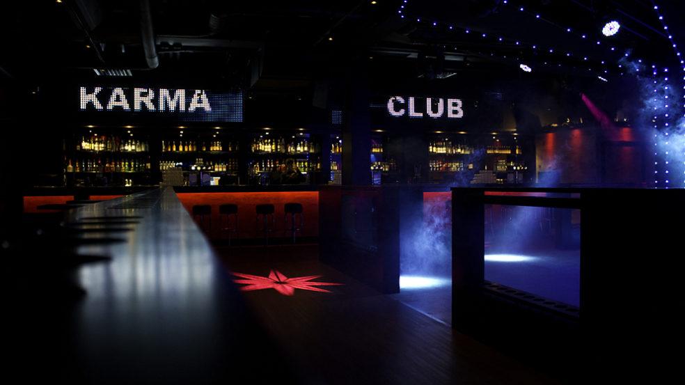 Club Karma baaritiski
