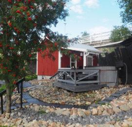 kriikun mylly seinäjoki kivetys ja omenapuu