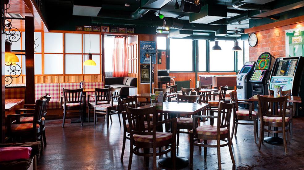 Pub Wilson Seinäjoki baari sisältä