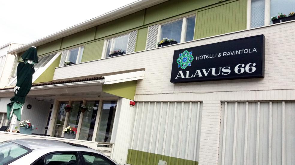 Hotelli Ravintola Alavus 66 julkisivu