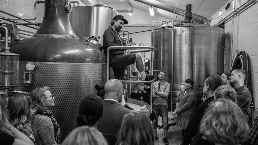 Kyrö Distillery vierailukeskus panimo