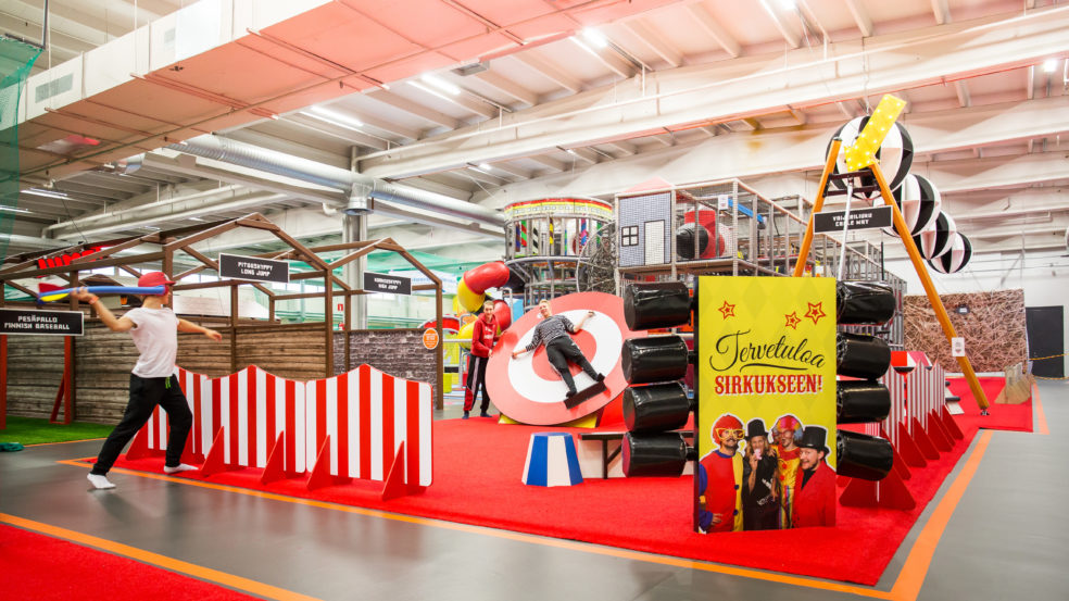 Duudsonit Activity Park Seinäjoki sirkus