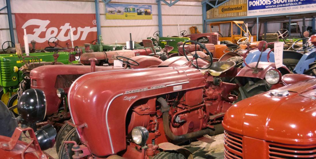 Etelä-Pohjanmaan Traktorimuseon museohalli