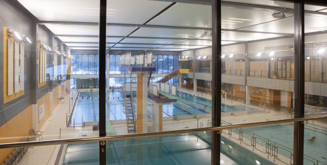 Seinäjoen uimahalli urheilutalo allaspuoli
