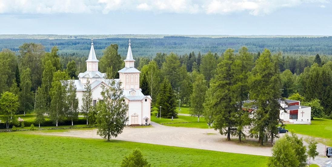 Soinin kirkko kevät visit lakeus