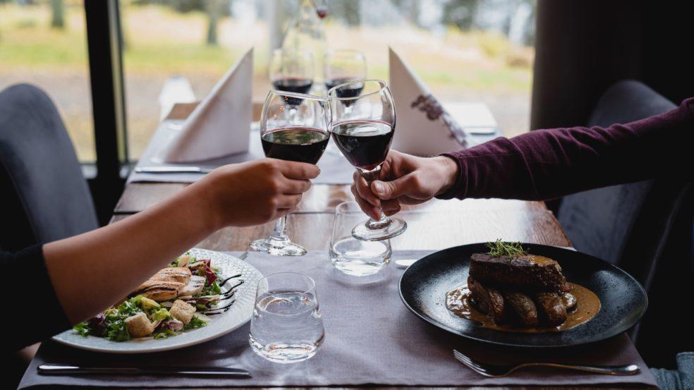 Ravintola Sorsanpesä A'la Carte ruoka-annos