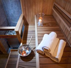 powerpark casa rosina tunnelmallinen sauna