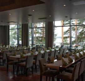 Kuortaneen urheiluopiston ravintola aalto, ruokasali