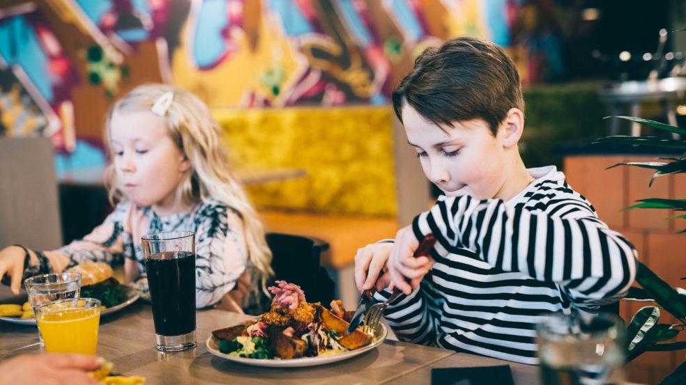 Ideapark Seinäjoki lasten lounashetki