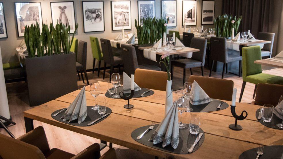 Ravintola Riihi Härmän Kylpylä ruokasali katettuna