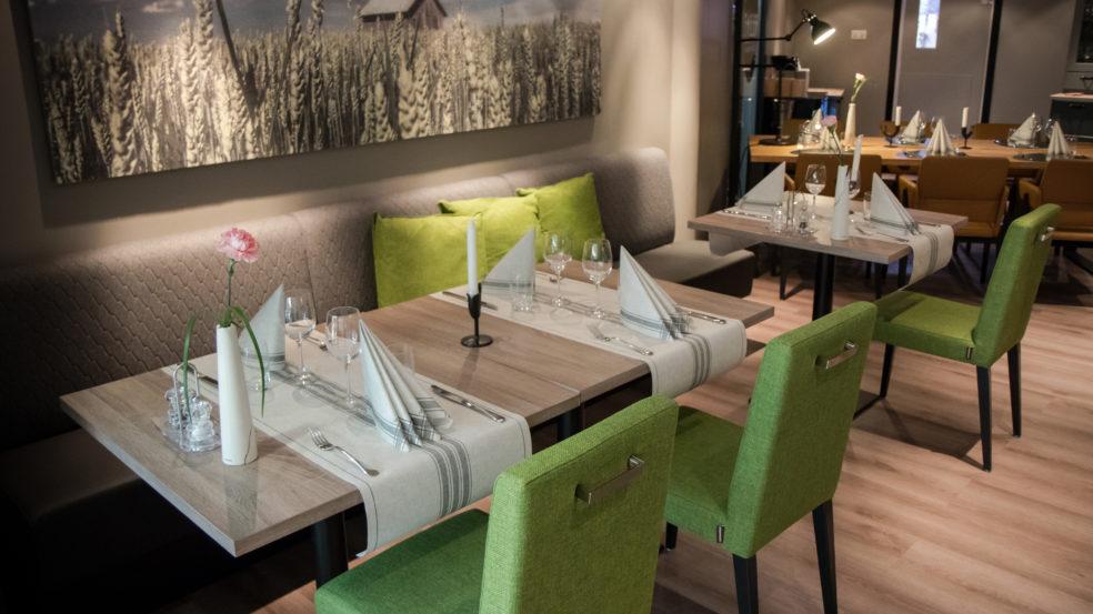Ravintola Riihi Härmän Kylpylä ruokasali