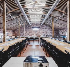 Marttilan tallin kokous- ja lounastilaa