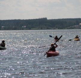 Kuortaneen Urheiluopiston Aktiviteetit vailla vertaa, kanootteja