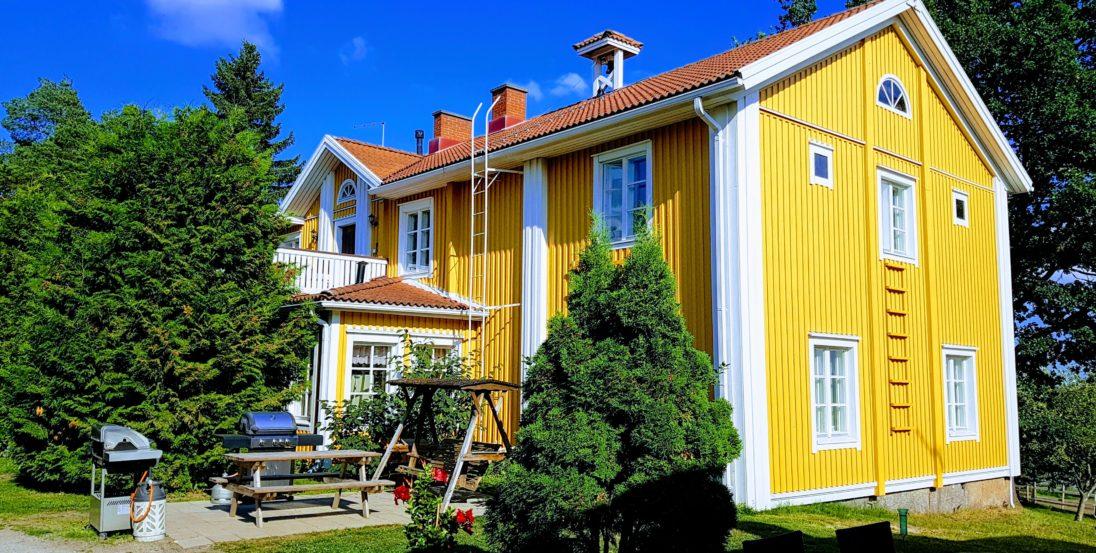 Siirilän Tila Etelä-Pohjalainen kaksfooninkinen päärakennus