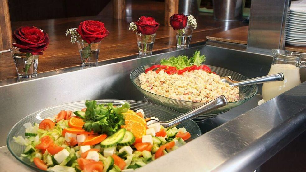 Salaattibuffet Hotel Kurikka