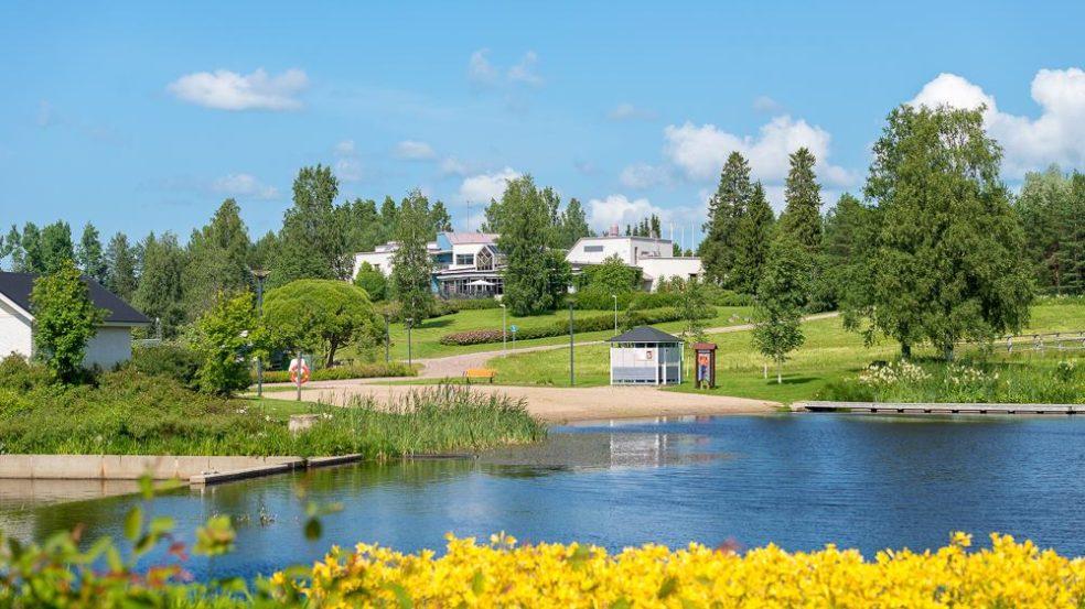 Hotel Kurikka ja uimaranta