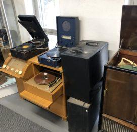 Jyllinkosken Sähköpuisto gramafonit