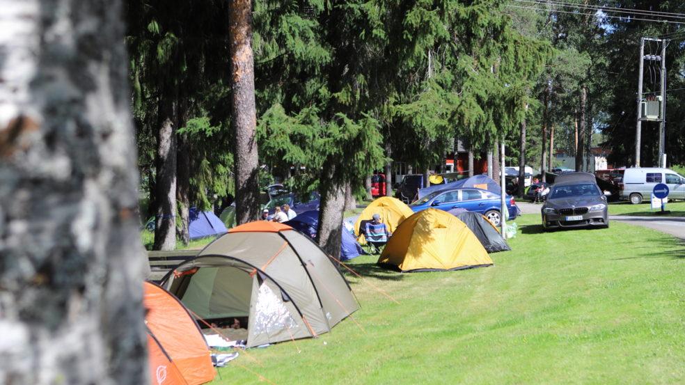 Seinäjoen Leirintäalue telttapaikat kesällä