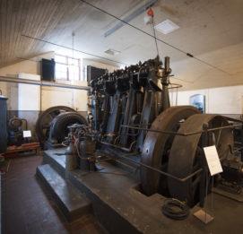Jyllinkosken Sähköpuiston voimakone