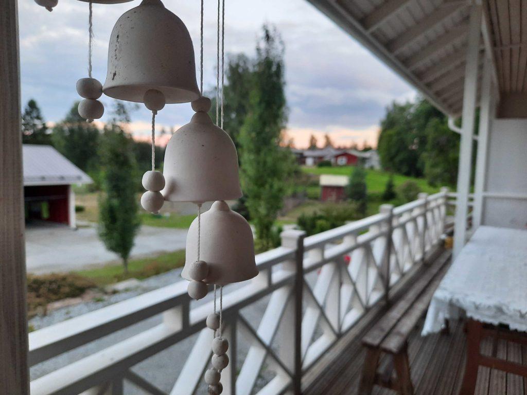 Iltamaisema Tohninmäen talolta
