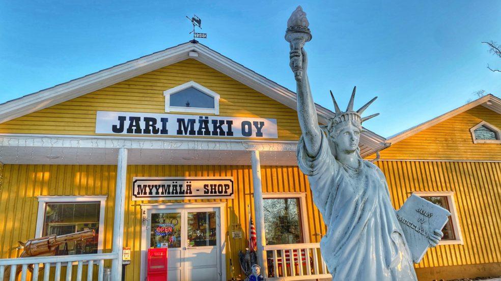jari mäki west ranch myymälä ulkoa visit lakeus