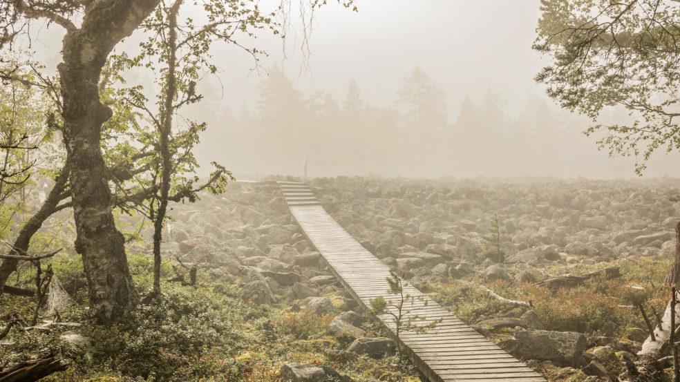 Lauhanvuori - Hämeenkangas UNESCO Global Geopark visit lakeus sumuisa keli