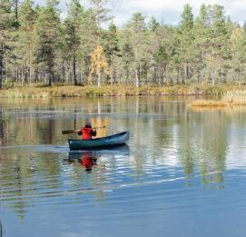 Lauhanvuori - Hämeenkangas UNESCO Global Geopark visit lakeus soutaja järvellä