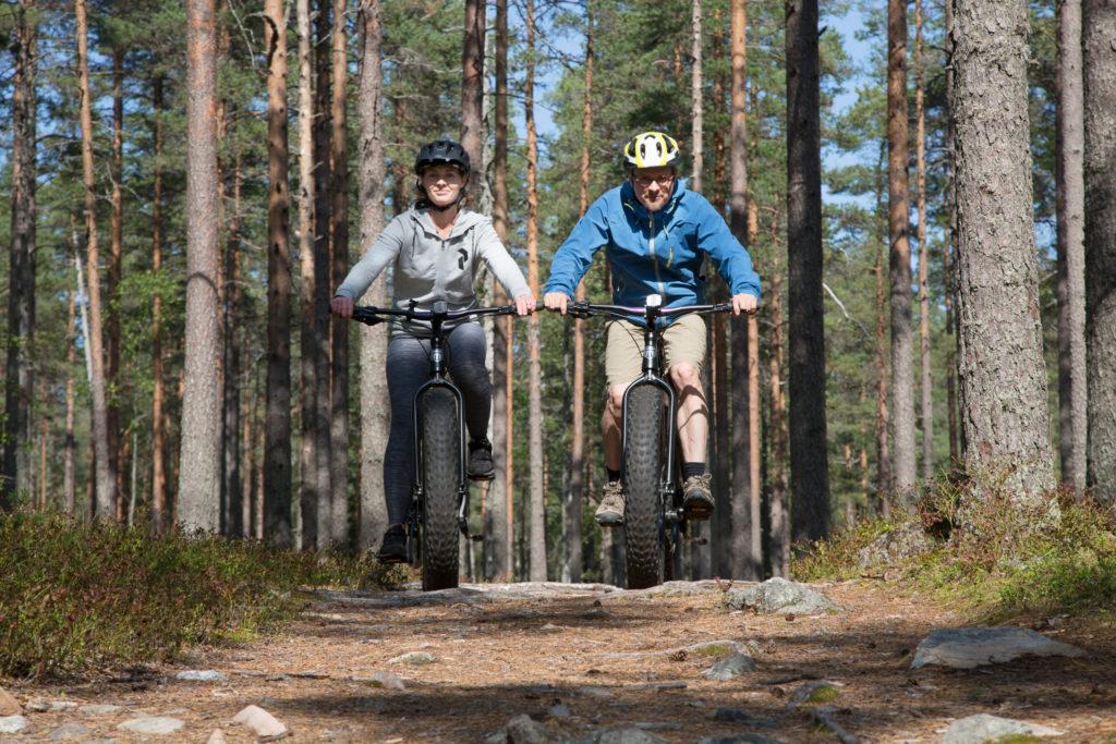 Lauhanvuori - Hämeenkangas UNESCO Global Geopark visit lakeus fatbike pyöräilyä reitillä