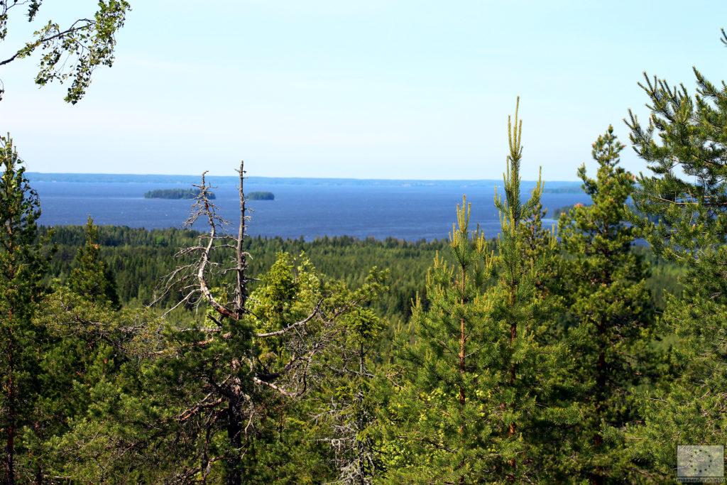 Pyhävuori - Lakeaharju Vimpelissä - Järvimaisemat Lappajärvelle
