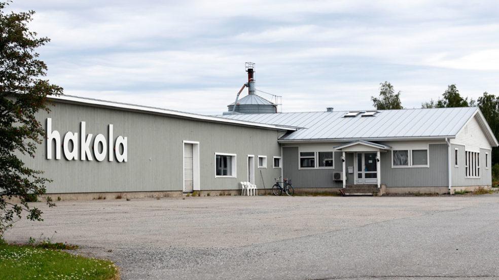 Hakolan tehtaanmyymälä Kurikan Jurvassa